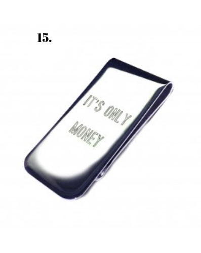 "Flight 001 ""It's Only Money"" Money Clip"