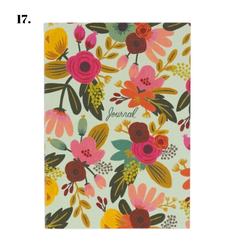 Rifle Paper Co. Mint Floral Journal