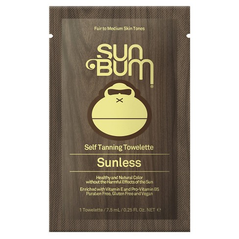 Sun Bum Self Tanning Towelettes