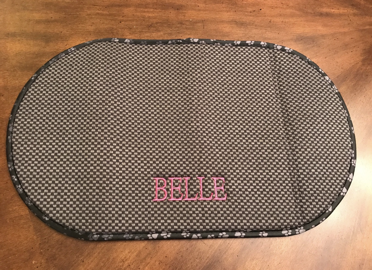 A Personalized Mat