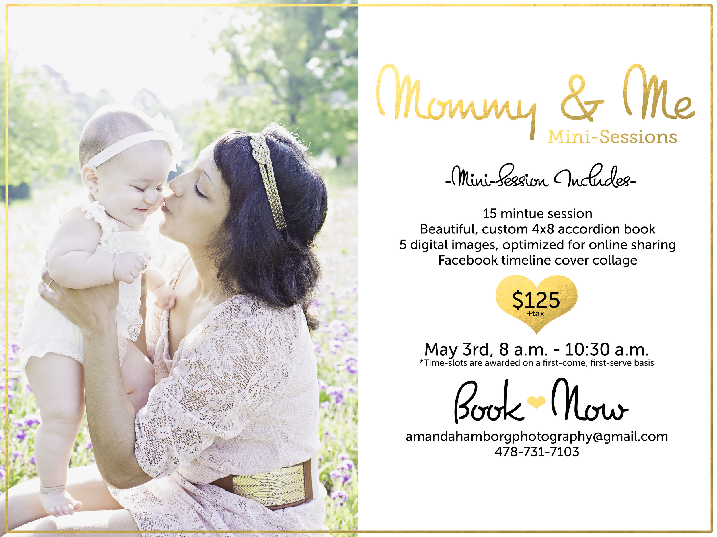 Warner Robins Mothers Day Mini Portrait Session