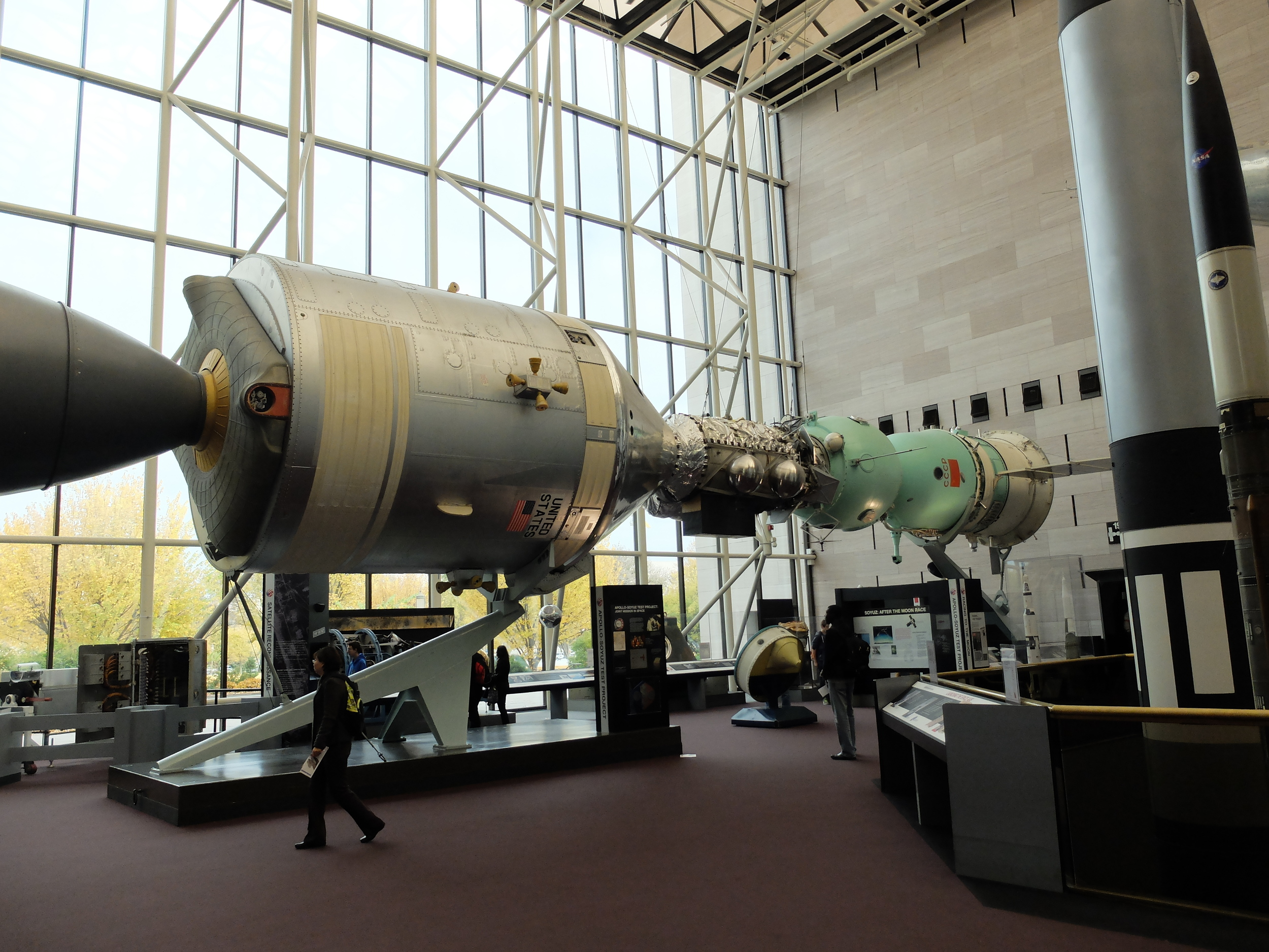 Apollo and Soyuz