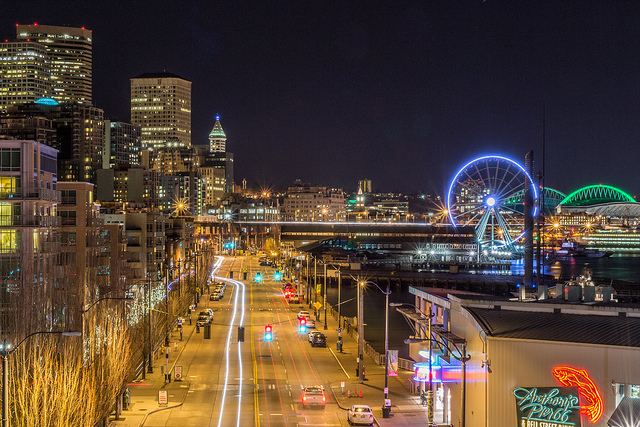 Not a typical view of Seattle.