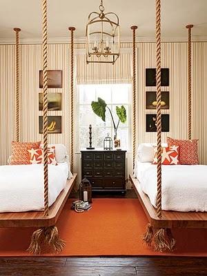 Rope beds=swings