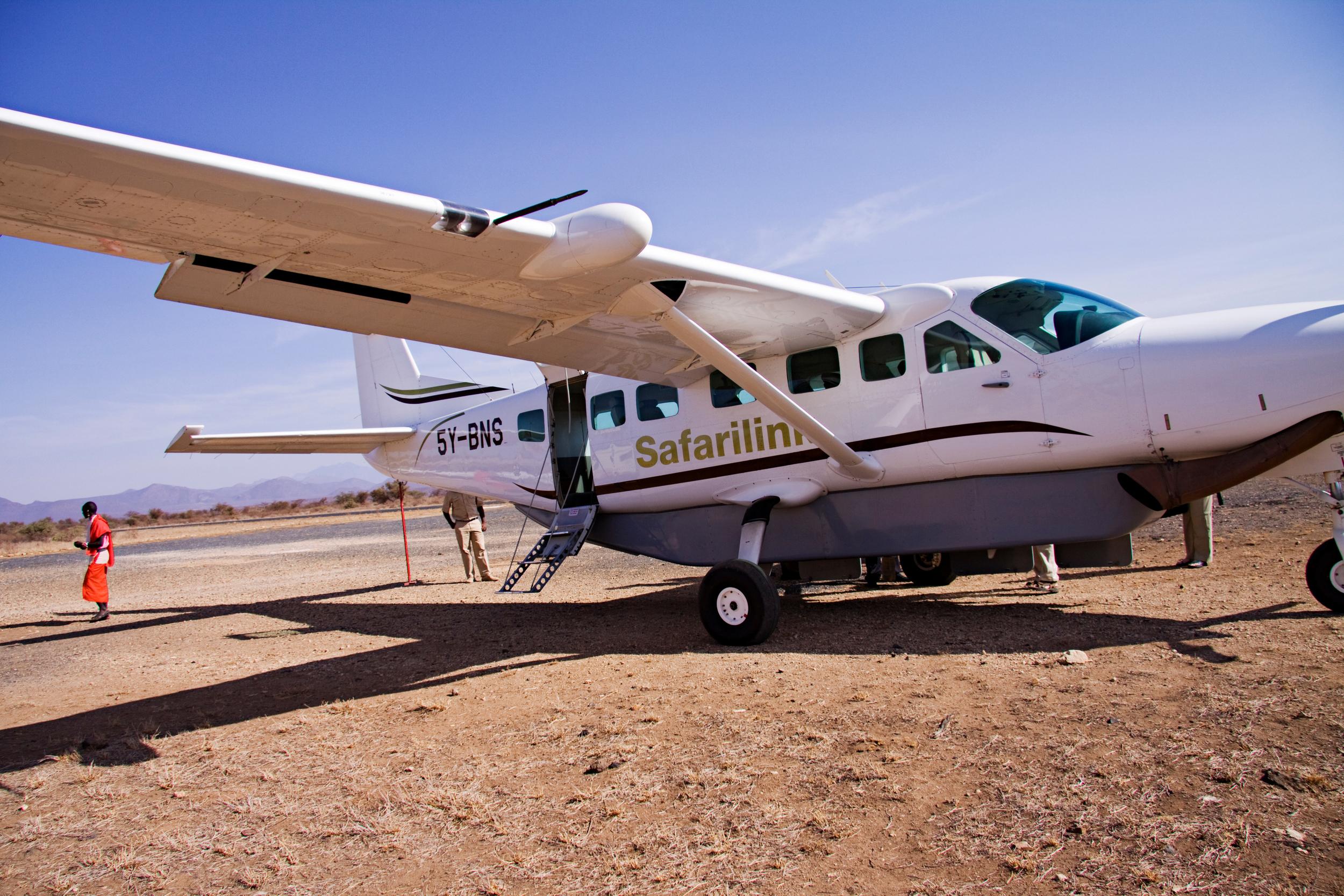Plane from Nairobi to Samburu National Park