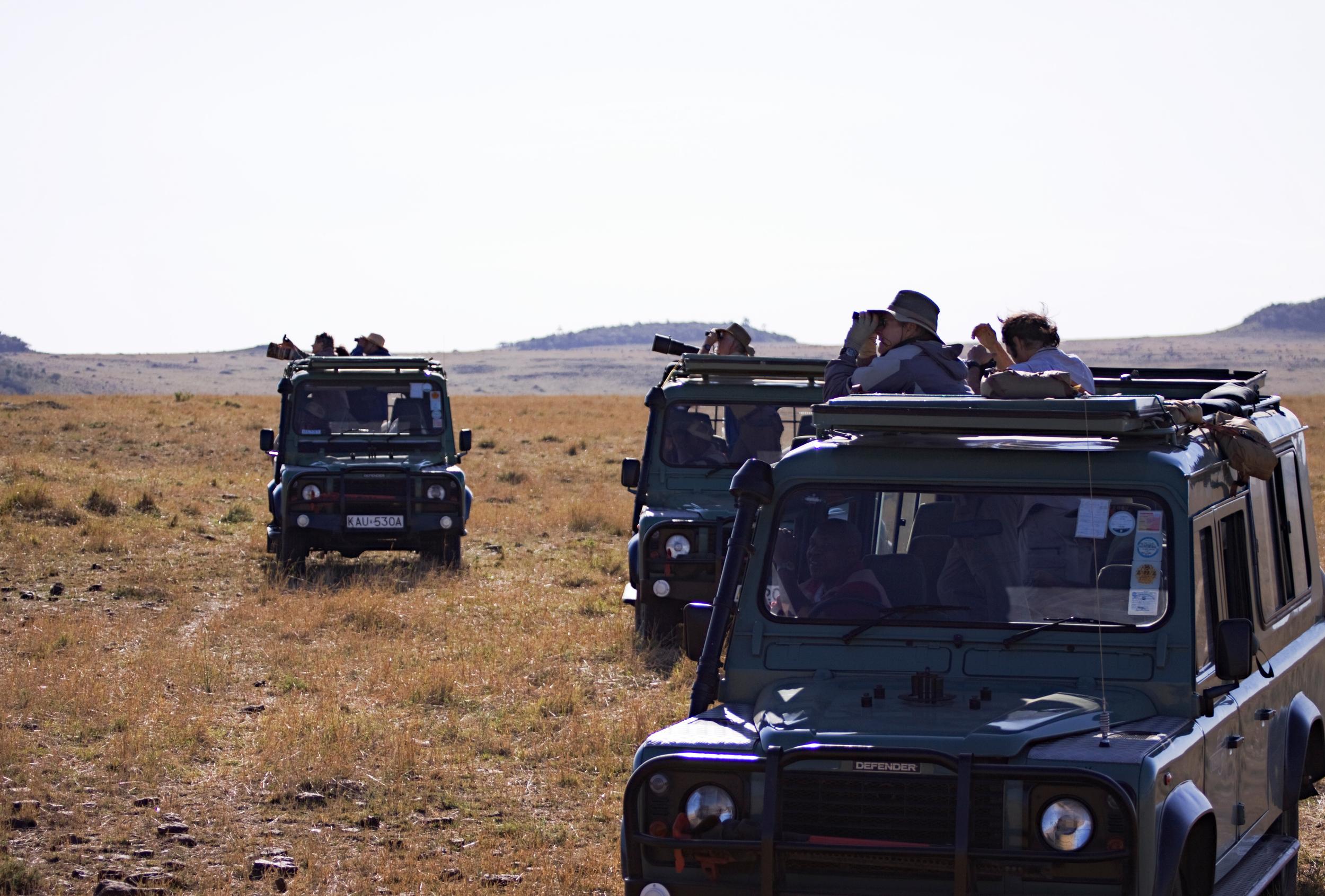 Photographers on Safari, Masai Mara