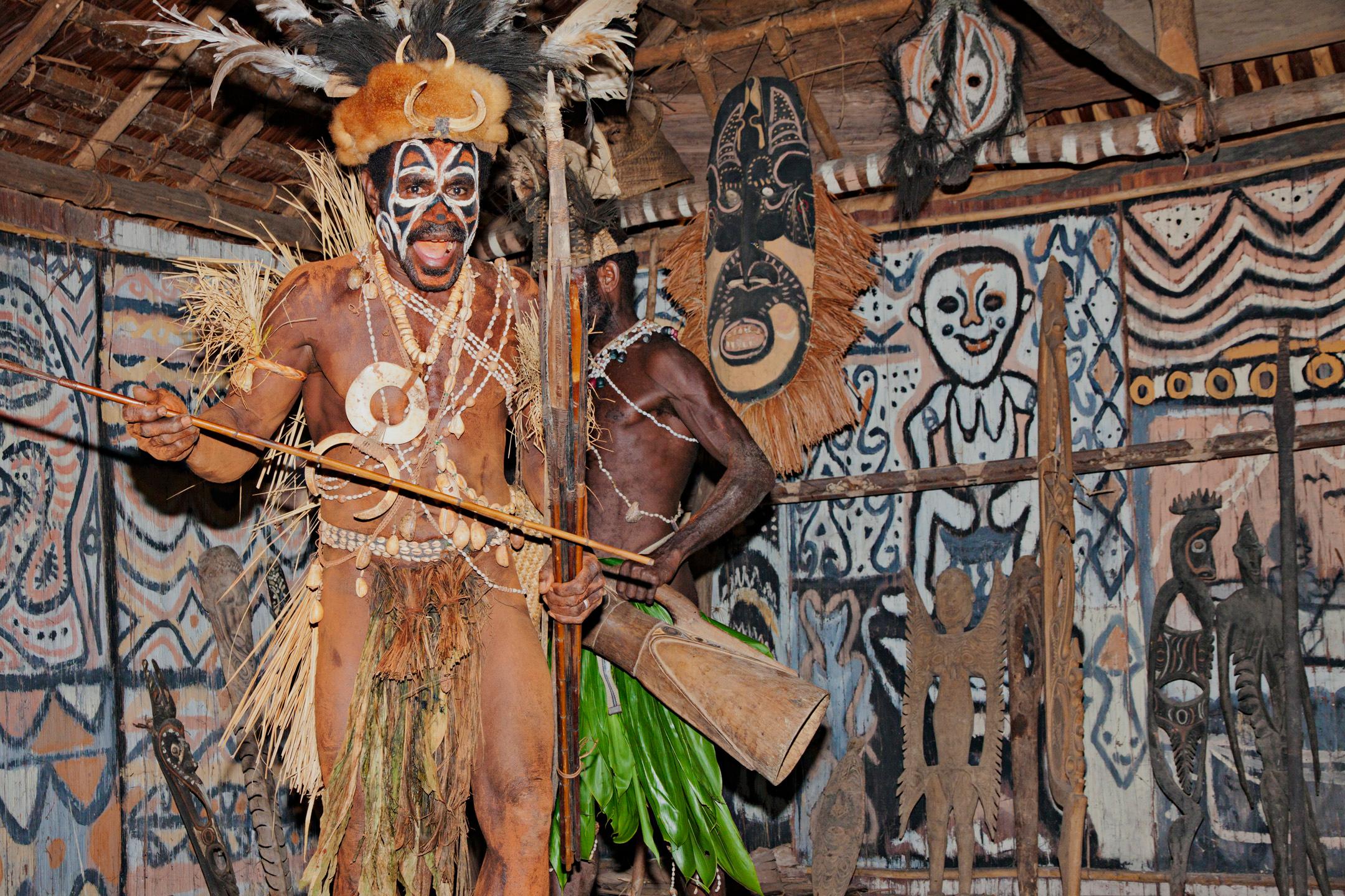 Spirit House, Tanganimbit Village, Konbrop Tribe, Darawari