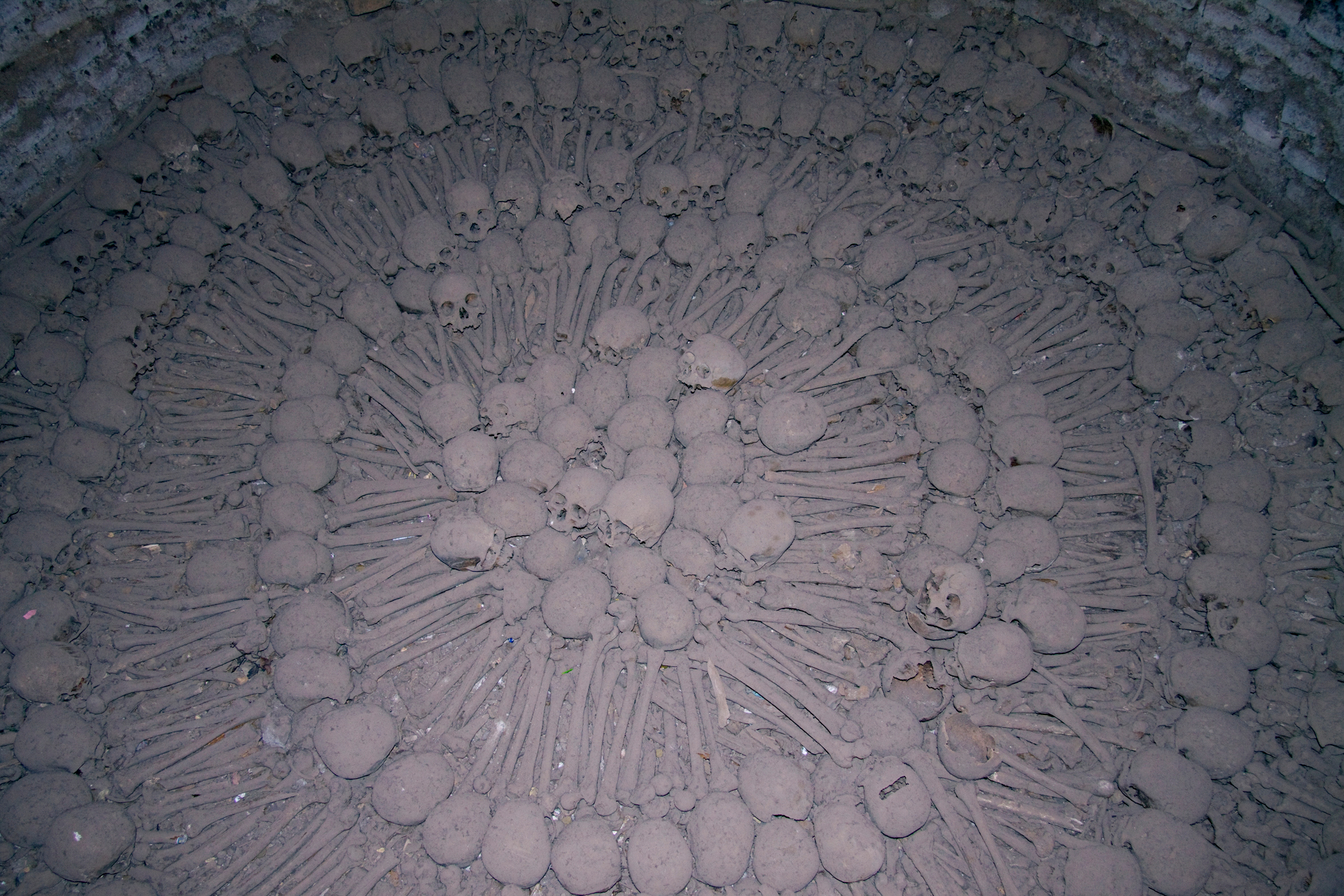 Catacombs, Basilica de San Francisco de Asis