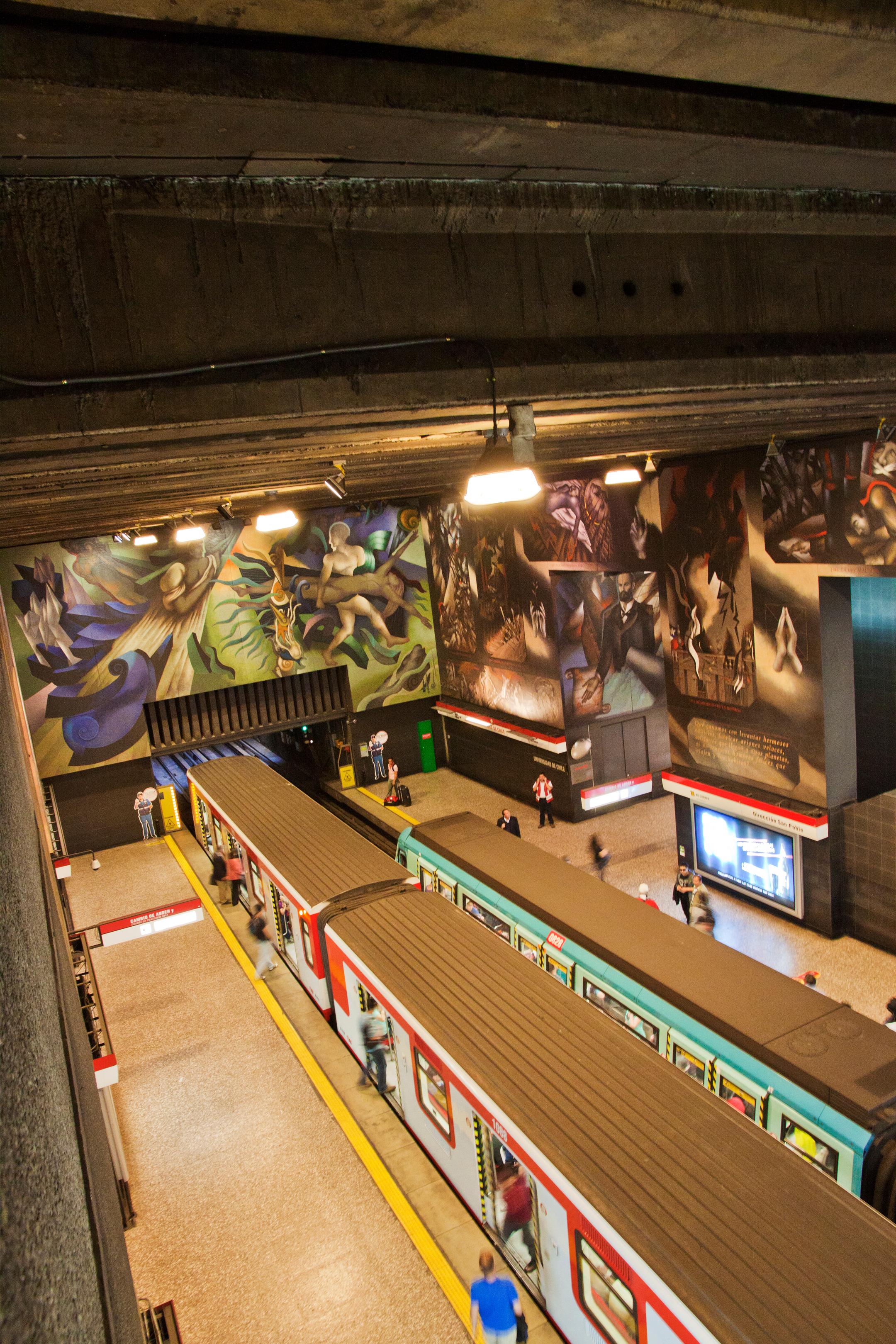 University of Chile Subway Station, Santiago