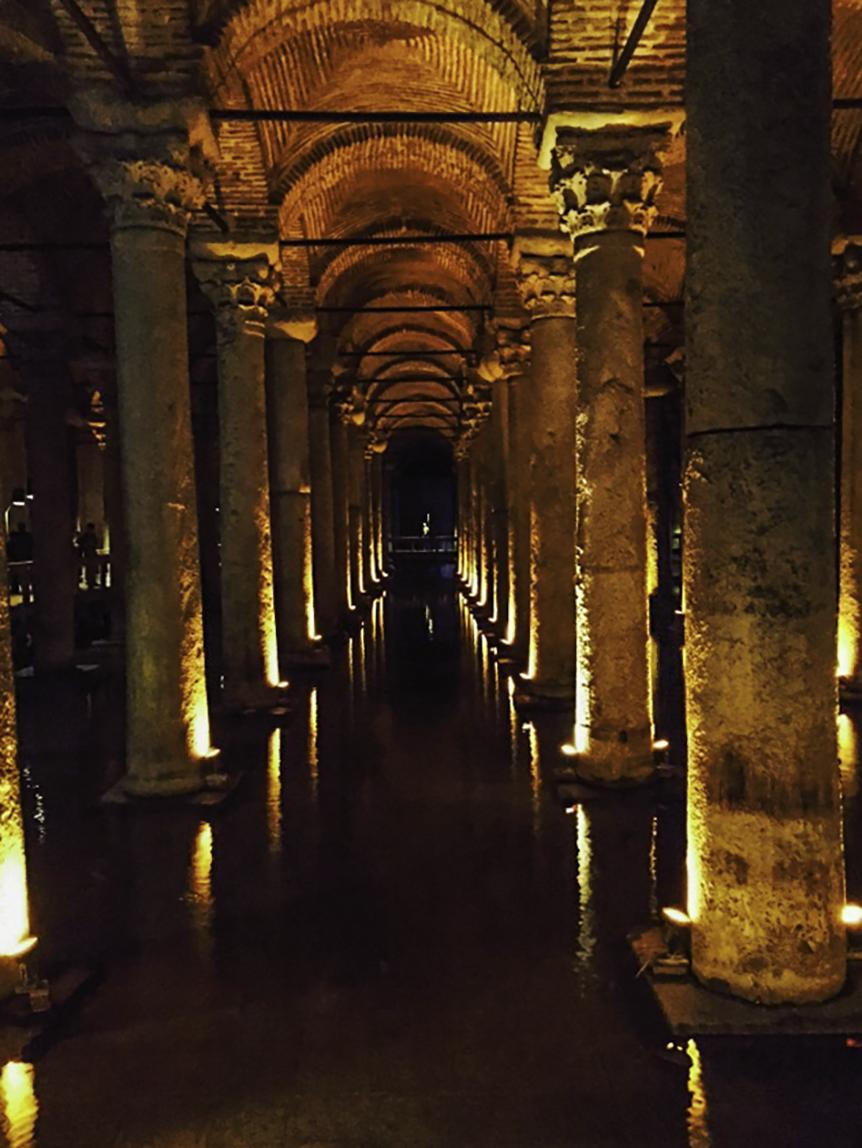 Underground Cistern (Sunken Palace), Istanbul