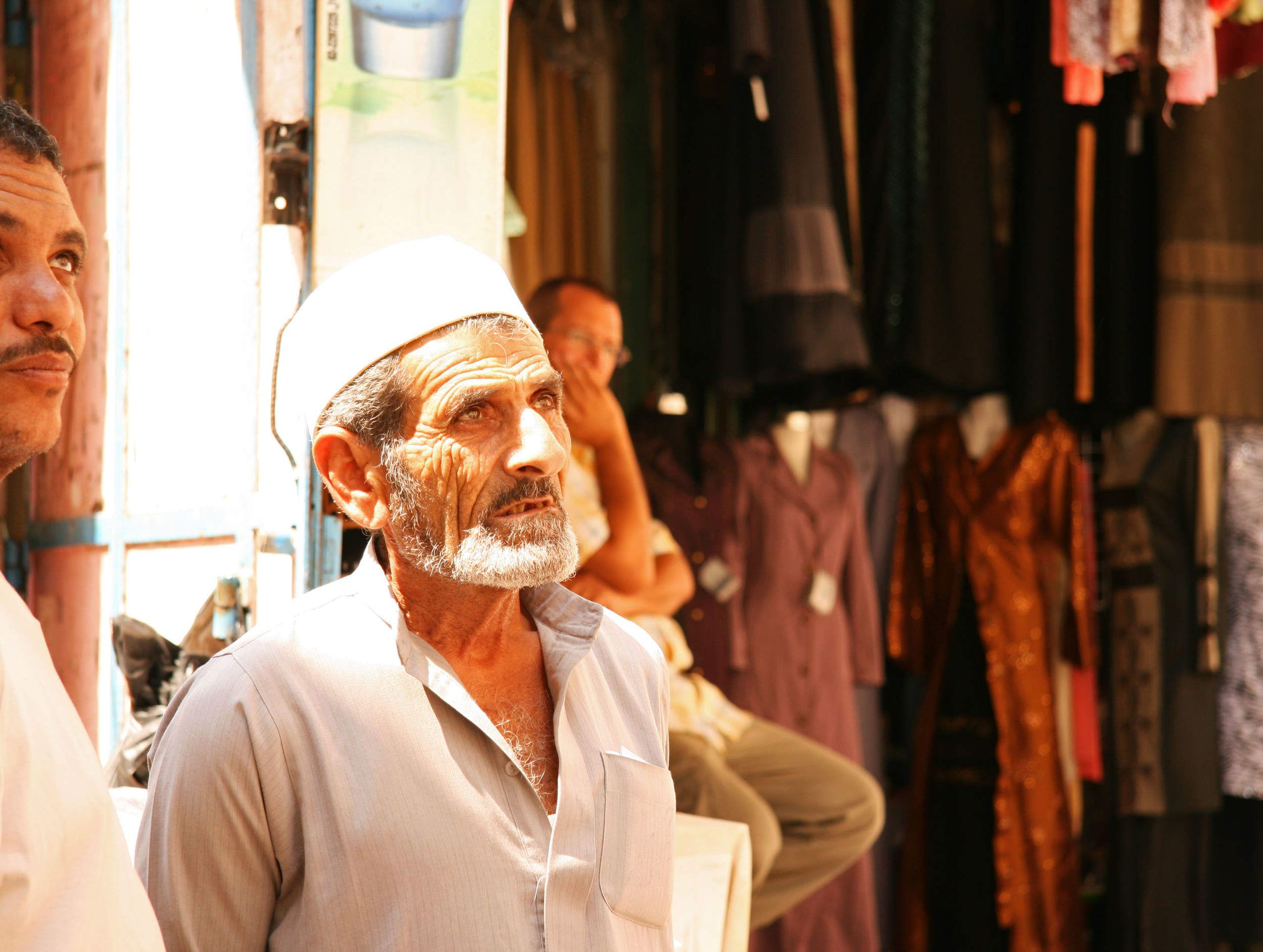 Vendor in the Arab Market