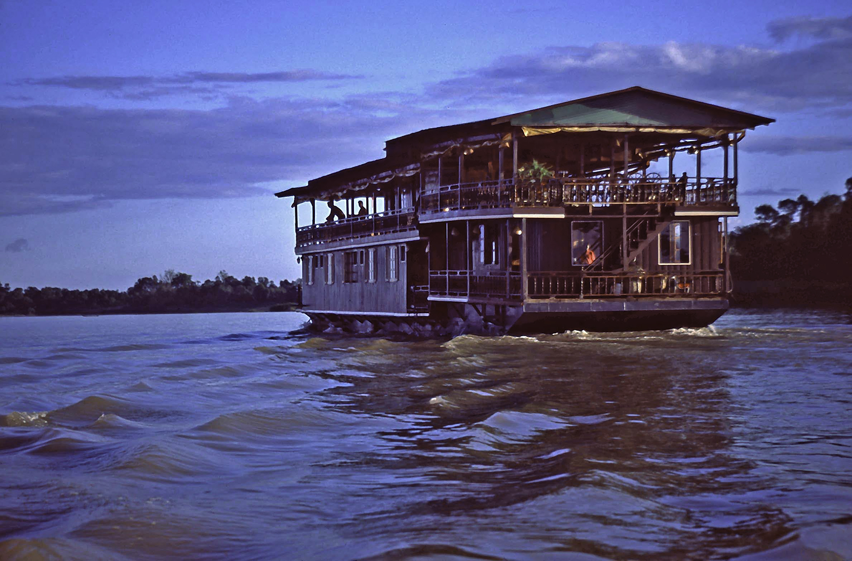 Riverboat, Mekong River
