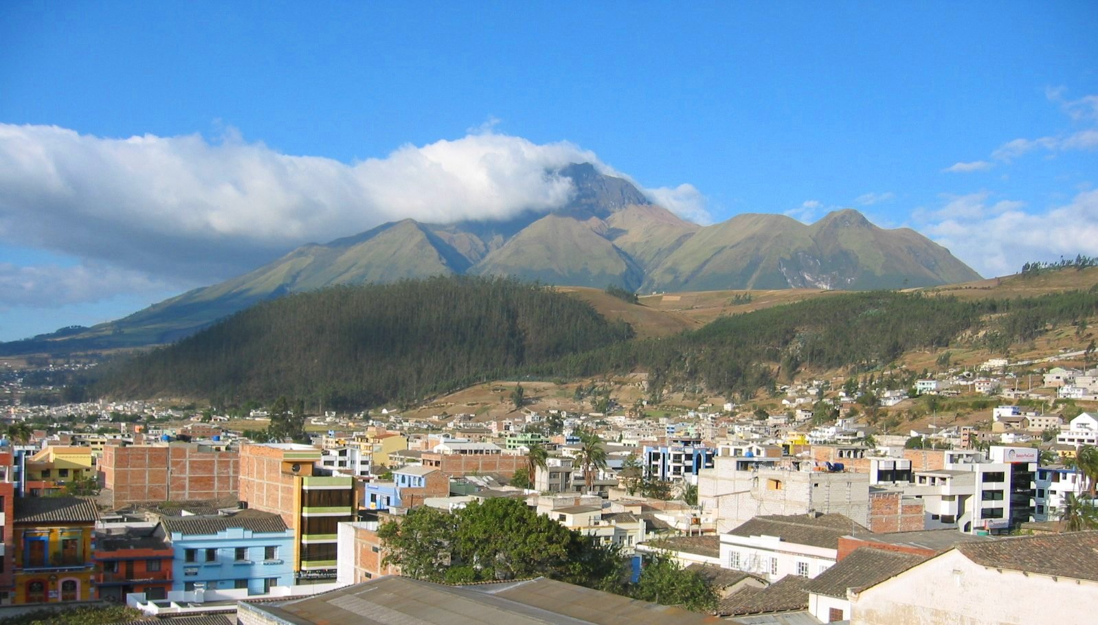 Imbabura Volcano, courtesy of Wikipedia
