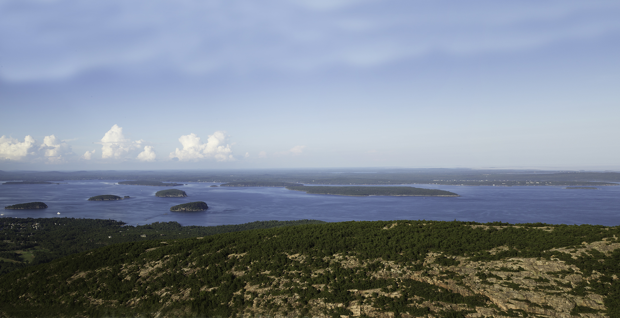 Cadillac Mountain, Porcupine Islands, Frenchman's Bay