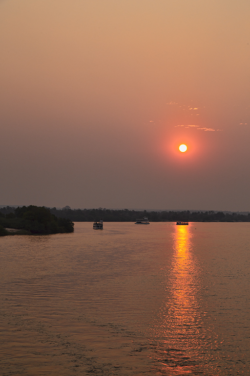 Sunset, Zambezi River