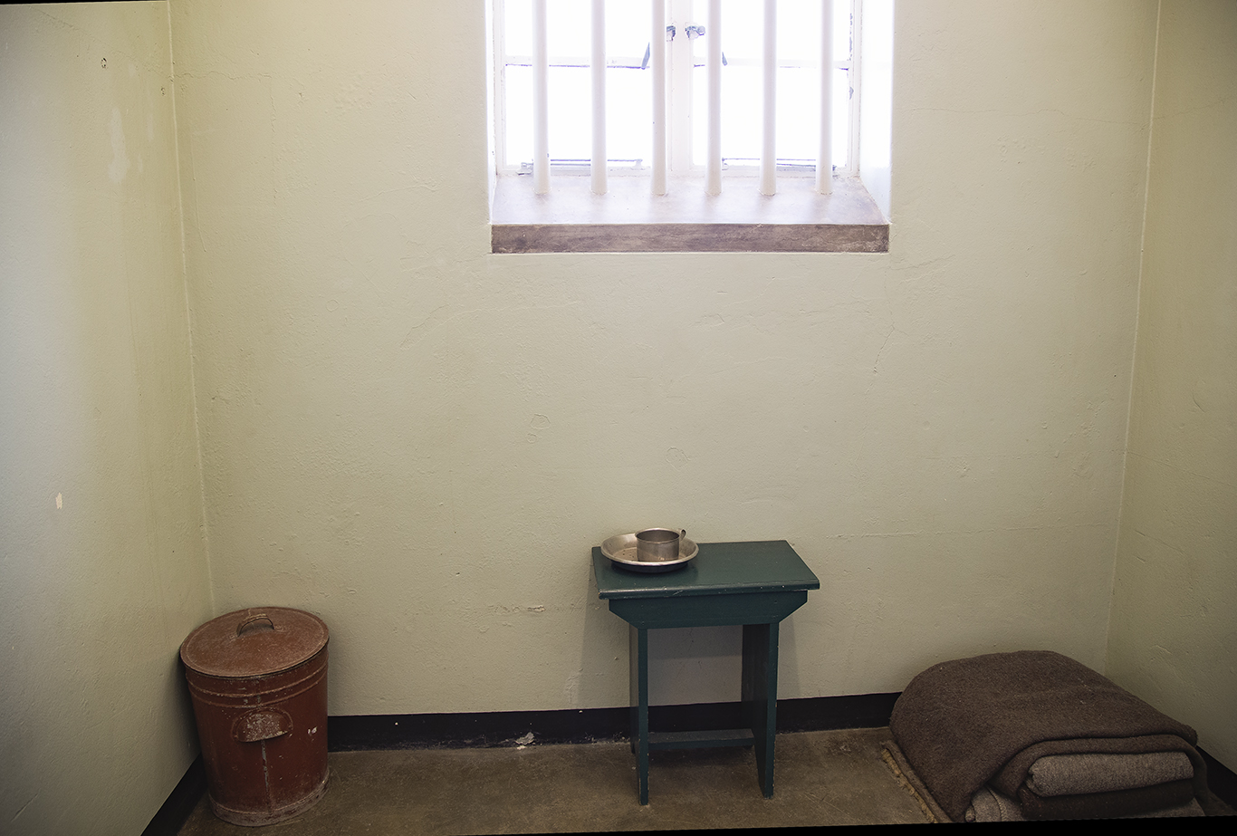 Nelson Madela's Cell, Robben Island