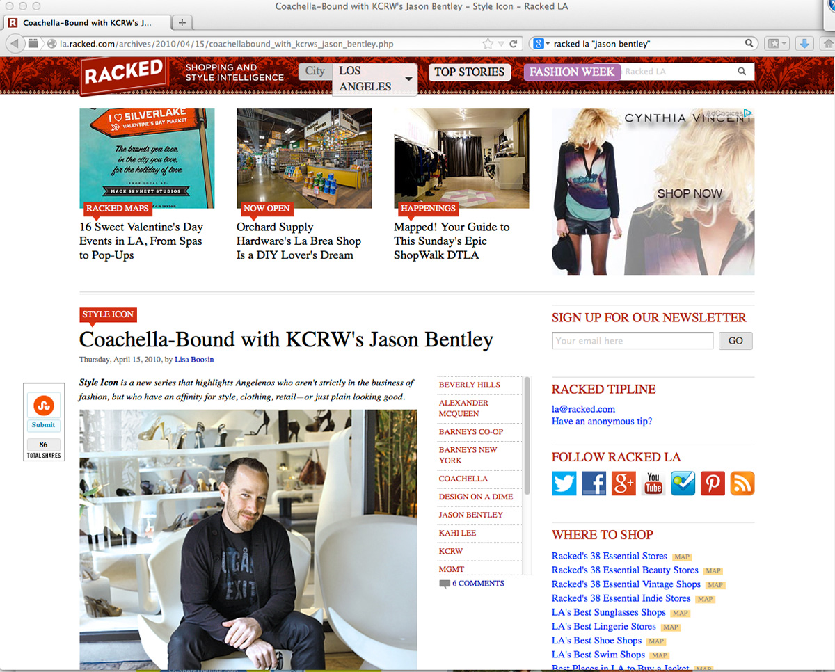 KCRW's Jason Bentley