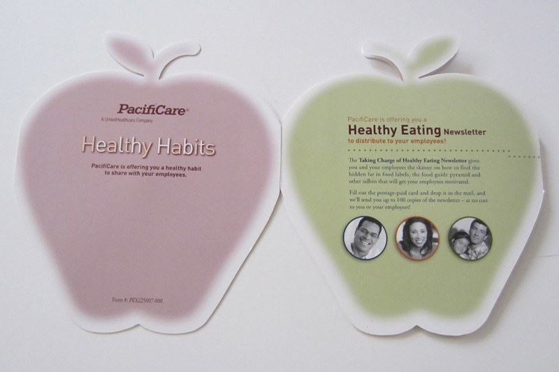 PacifiCare Apple Mailer