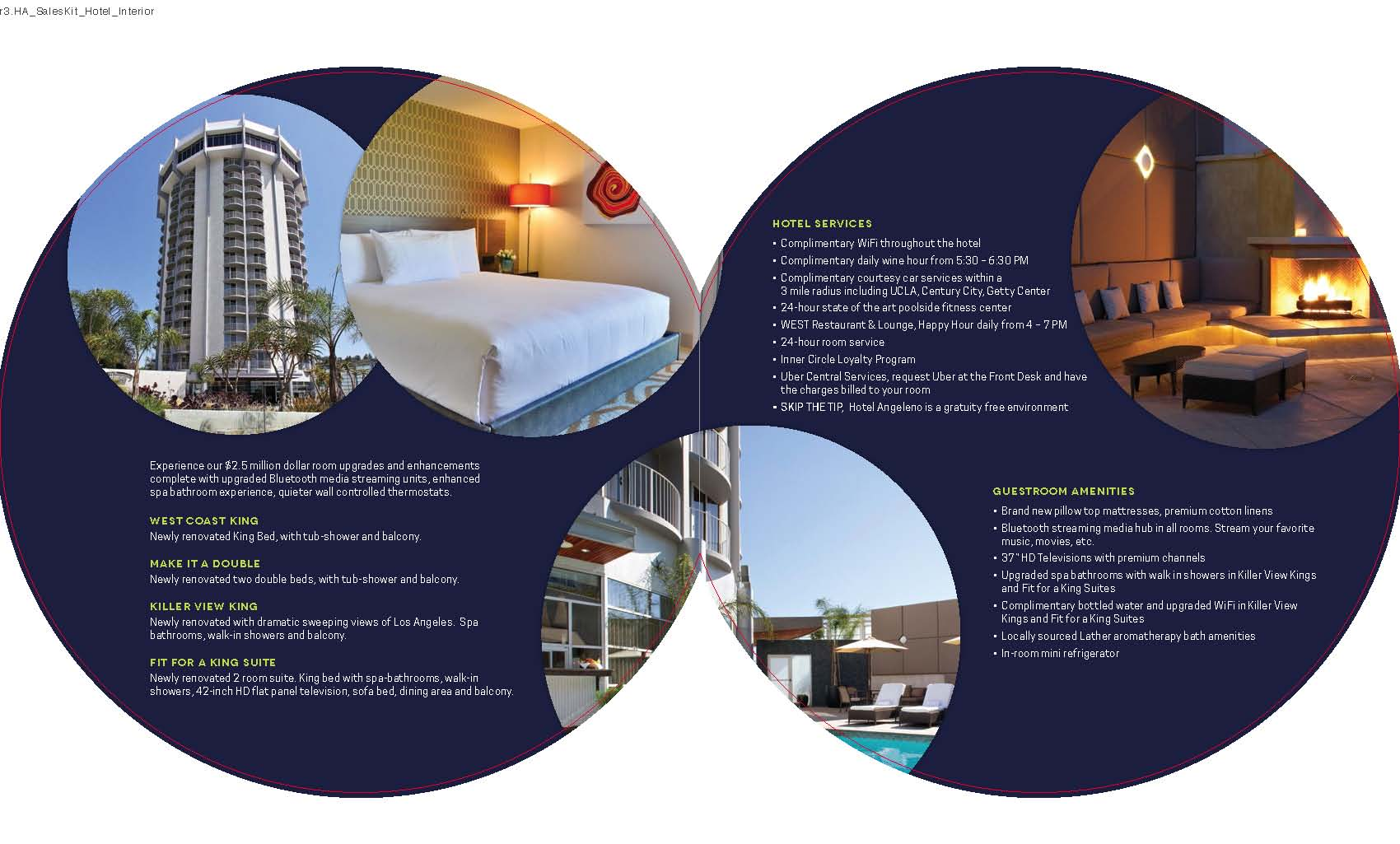 Inside of Sales Brochure