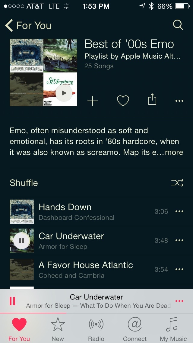 It's getting Emo up in here...