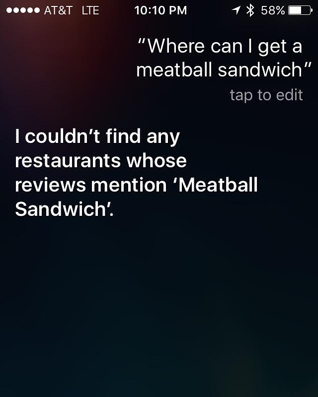 Come on Siri!