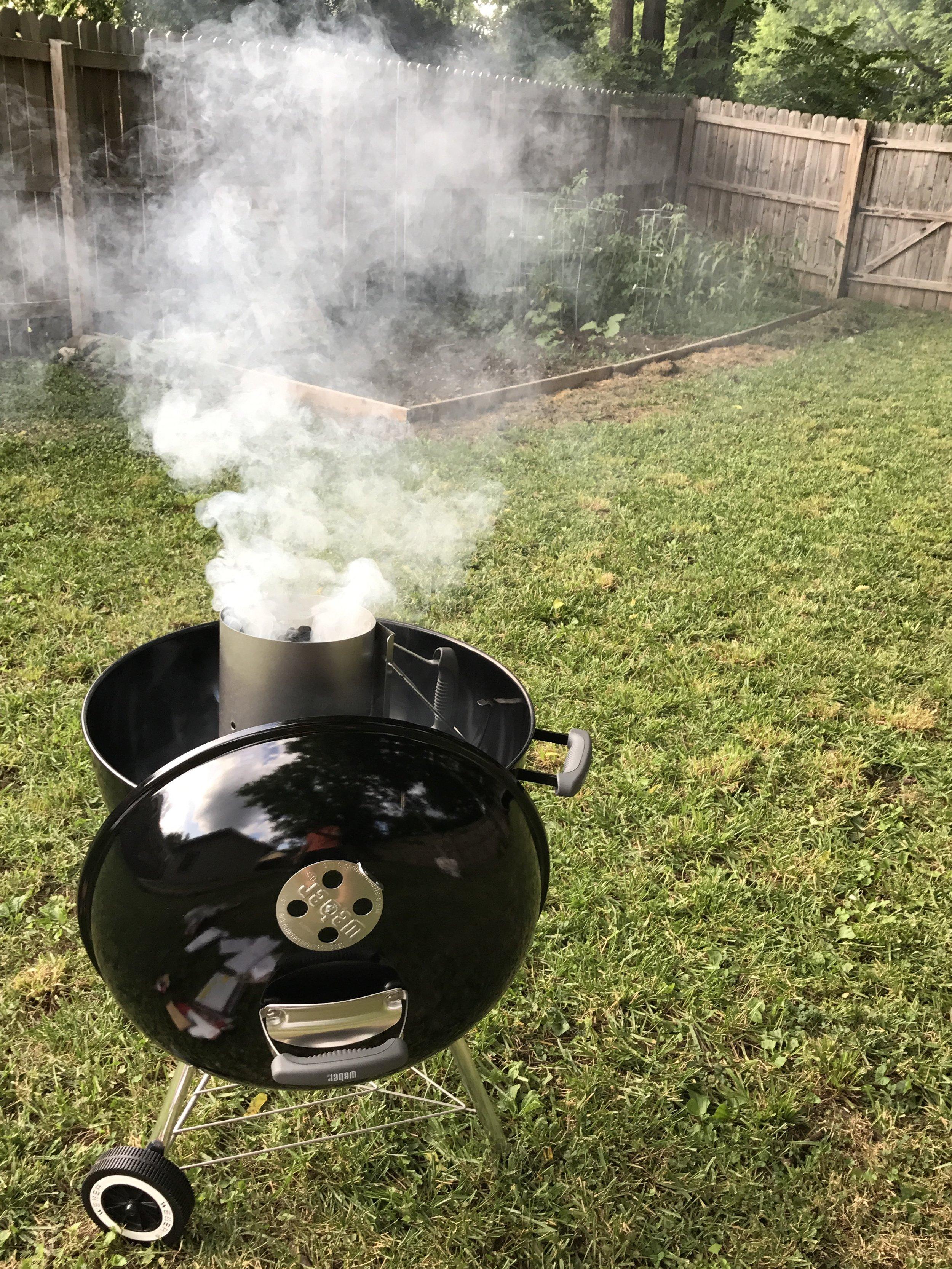 Back yard BBQ time...