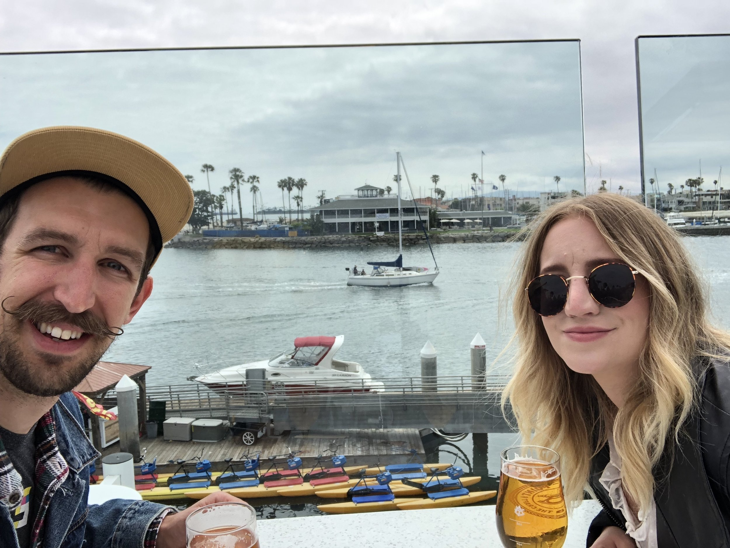 She hates this photo - Long Beach, CA - Summer 2019