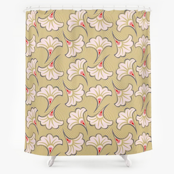 """Pattern #27"" shower curtain"