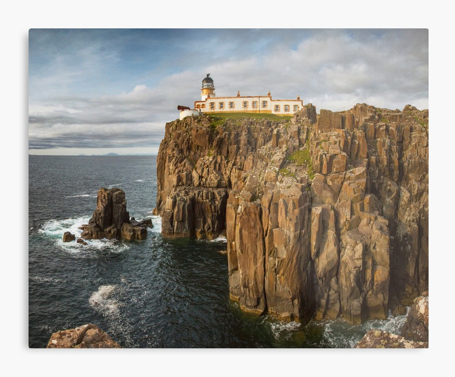 """Neist Point"" metal print"