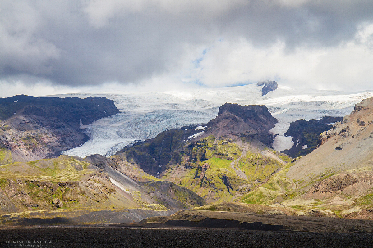 Svínafellsjokull from a different angle.