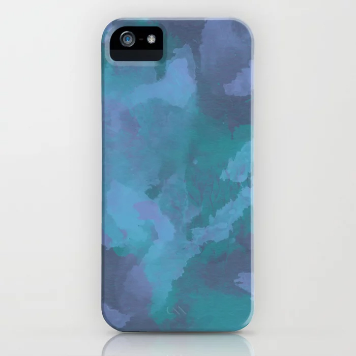 """"""" Shades Of Blue """" iPhone case"""