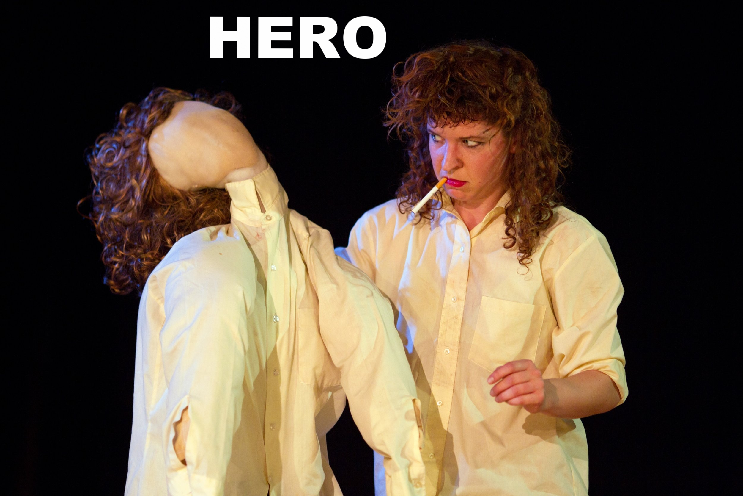 """""""Hero"""" was originally conceived in 2008 and has been performed more than any other piece in Marill's repertory. Originally choroegraphed in direct response and relationship to Enrique Iglesia's """"Hero,"""" pop hit, this piece subverts the message of what and who a """"hero"""" might be. How can we be our own heroes?"""
