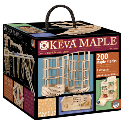 KEVA Maple 200   Structures & Contraptions  $79.95 Made in the USA