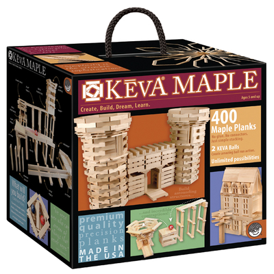 KEVA Maple 400   Structures & Contraptions  $139.95 Made in the USA