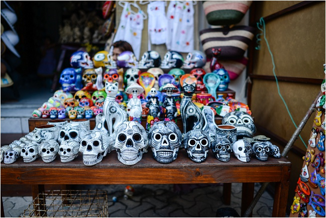If you know me at all, you might know I have a thing for skulls and bones. Add in some Dia de Los Muertos variety and I've got no complaints.