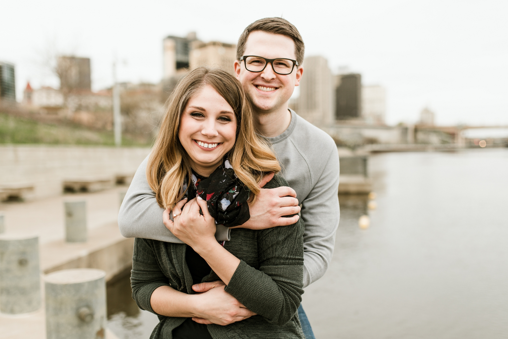 LOGAN + BRIANNA - ST PAUL ENGAGEMENT