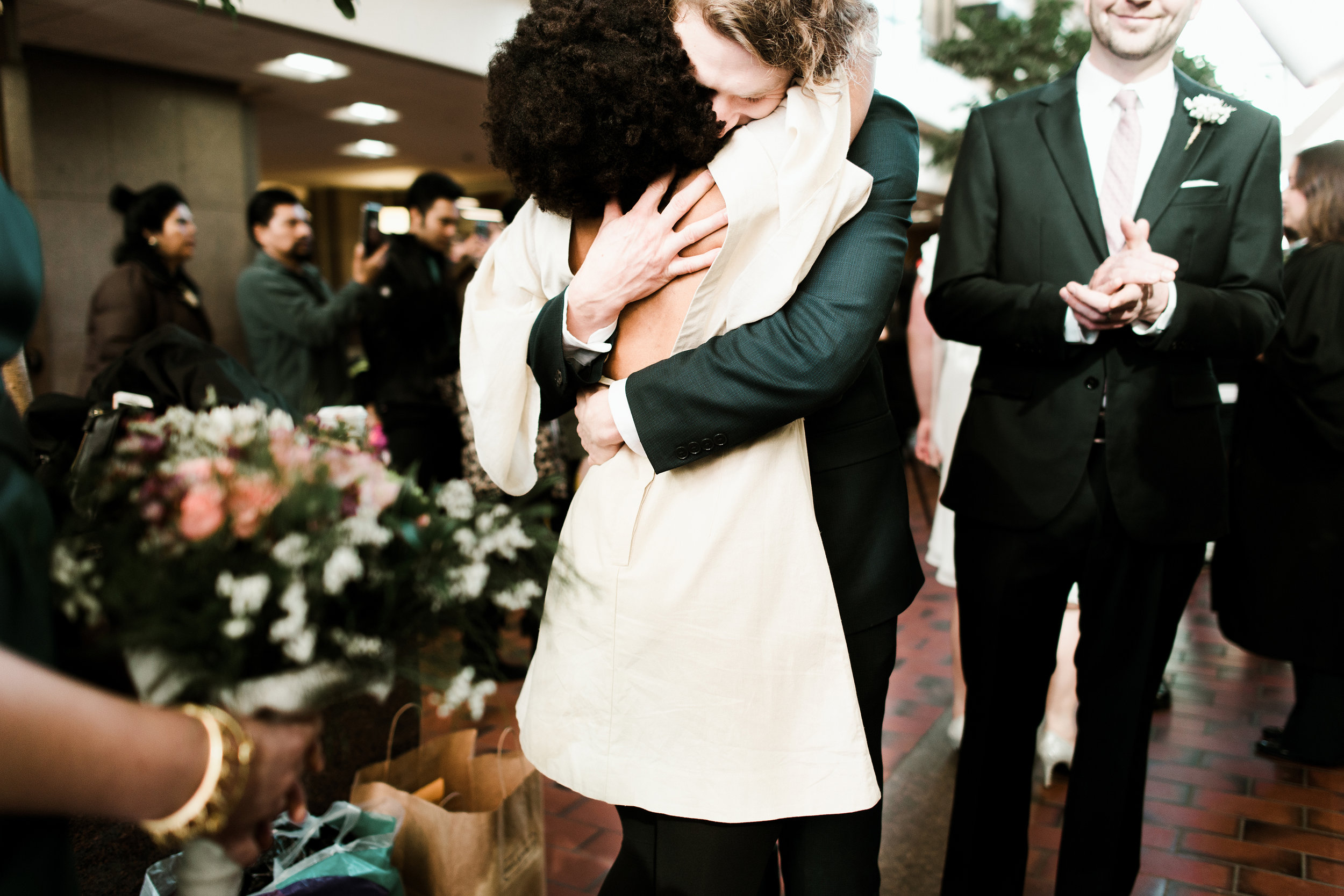 PAT + JULIE - MINNEAPOLIS COURTHOUSE WEDDING