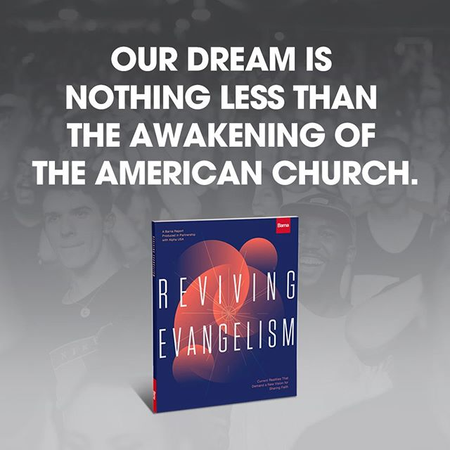 Our dream is nothing less than the awakening of the American Church. . . . #RevivingEvangelism #RunAlpha