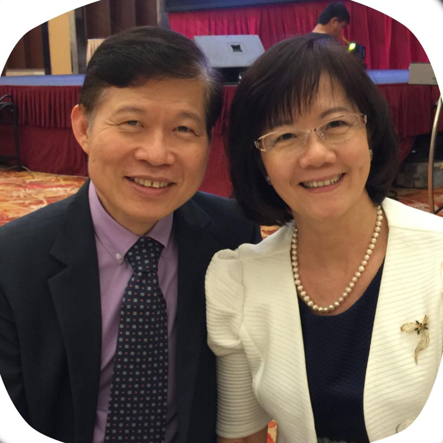 Dr Wong Howe Tung & Gan Chuei Lian  Regional Coordinators, The Marriage & Parenting Courses