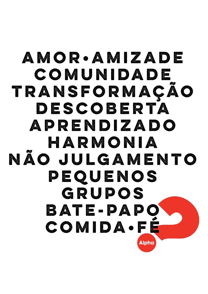 AMOR • AMIZADE • COMUNIDADE (A4)