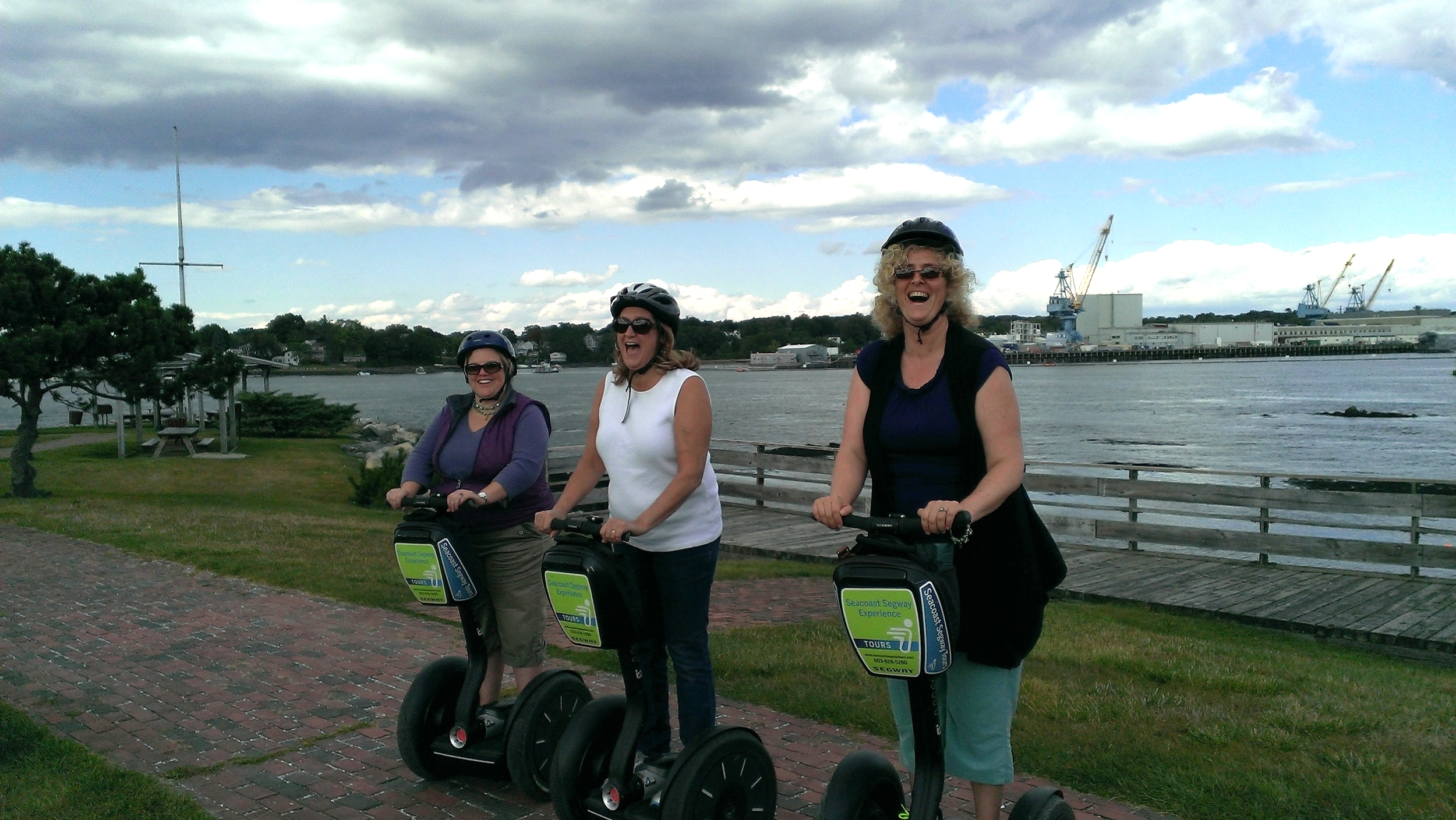 Our Segway conflict workshop in Portsmouth, New Hampshire. it was a blast!