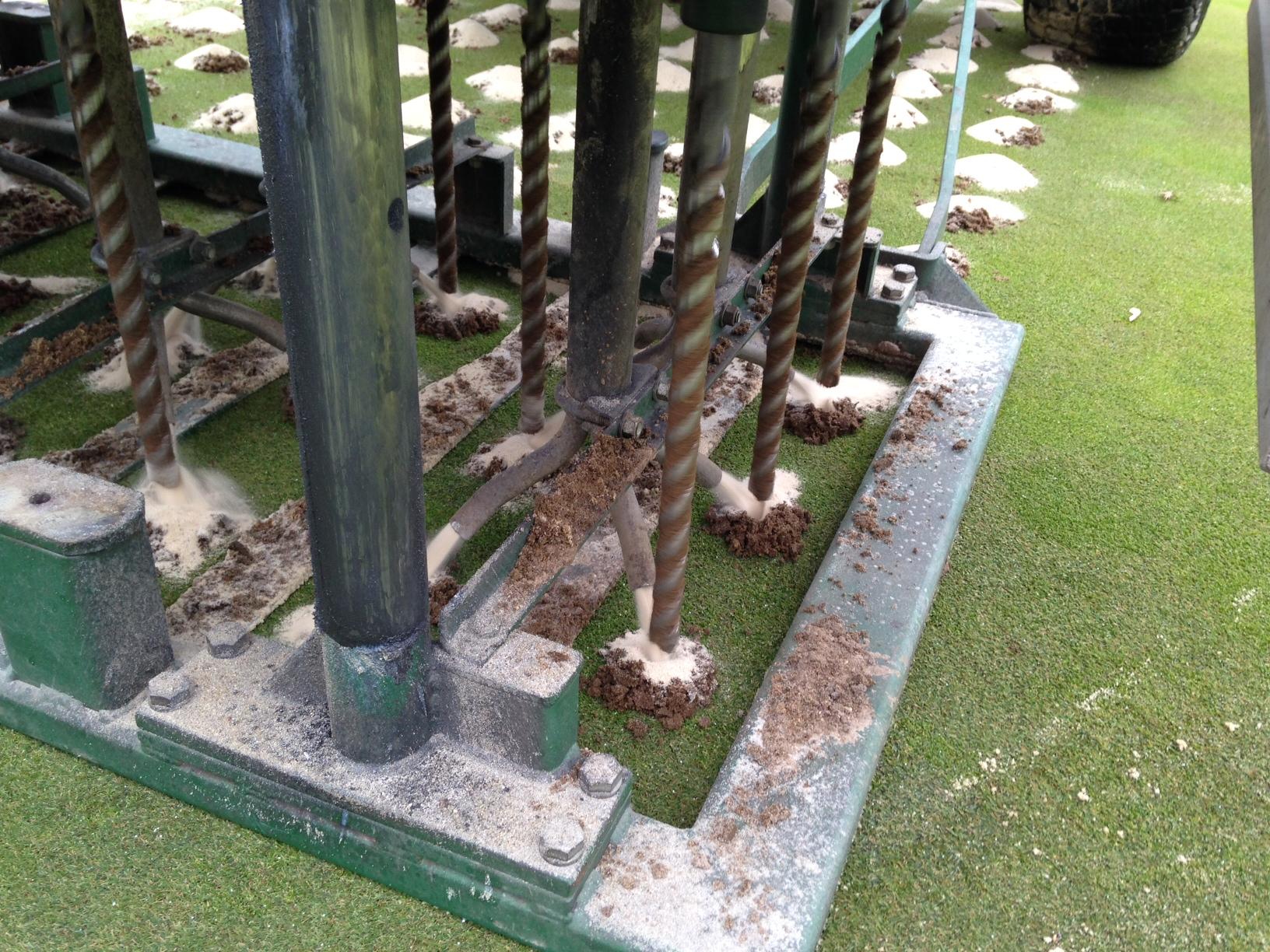 Golf Greens Drill