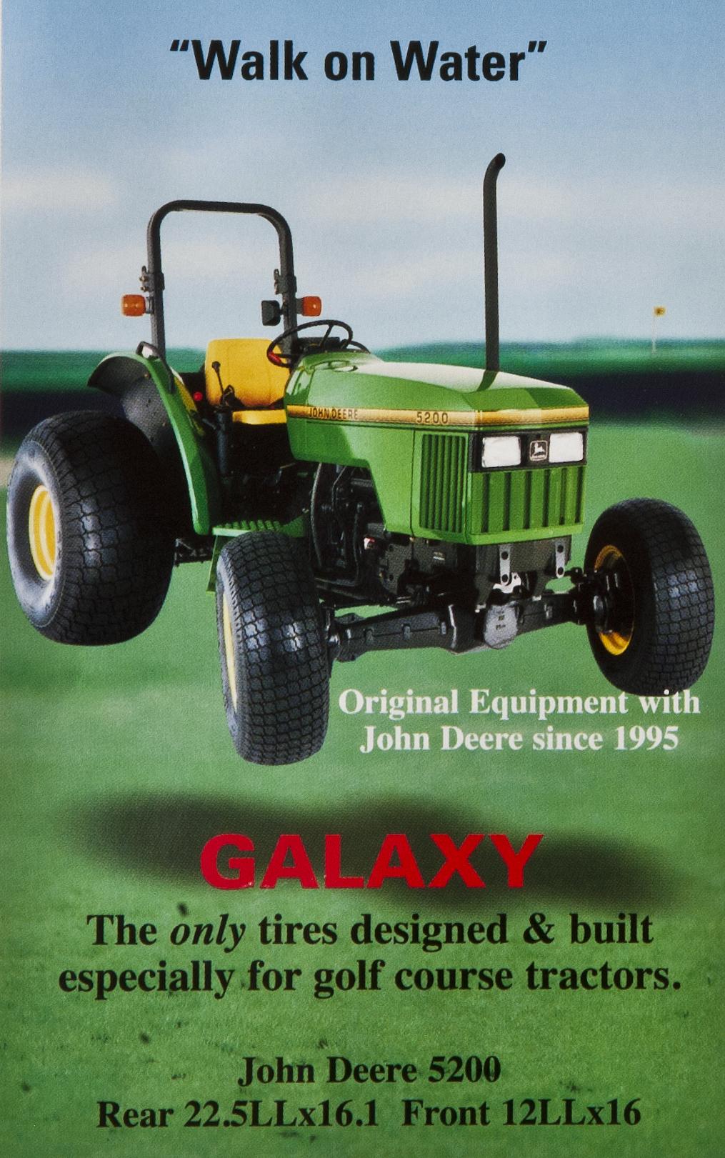 Galaxy Turf Tires