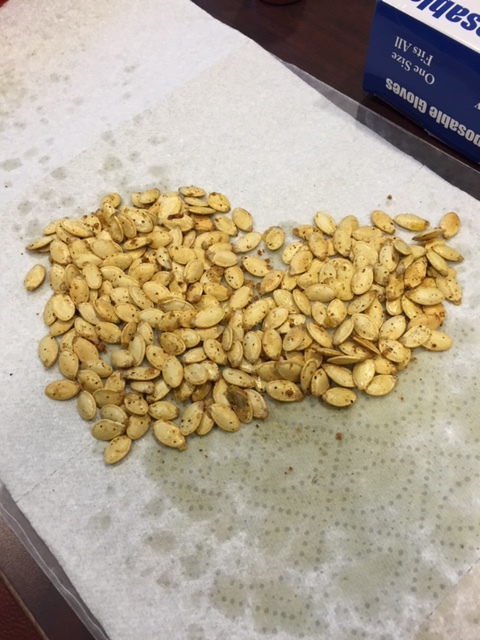 Roasted Pumpkin Seed Recipe, Dallas Nutritional Counseling, Casey Voorhies RD, LD, Registered Dietitian