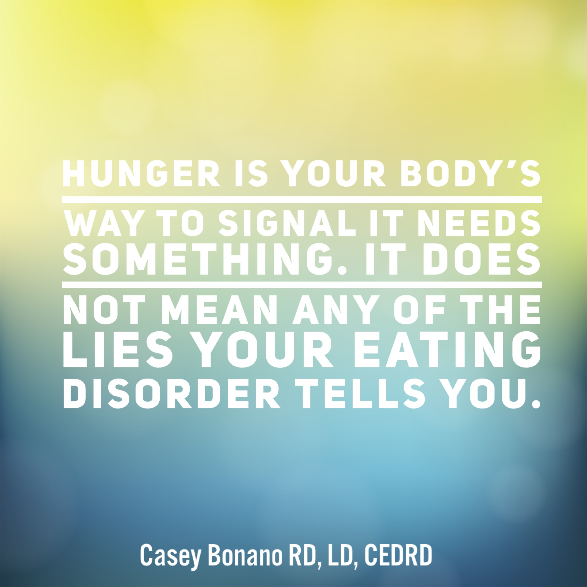 Identifying Eating Disorder Characteristics for Early Intervention, Dallas Nutritional Counseling, Casey Bonano RD, LD, CEDRD #dallasnutritionalcounseling #balancedeating #caseybonanord #dallasrd #dietitian #nutritionist #nondiet #intuitiveeating #foodforthought *Image is not my own*