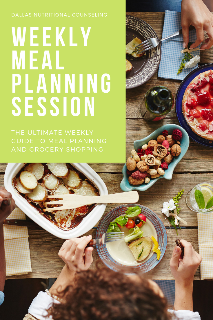Weekly Meal Planning Session Casey Bonano RD LD, Dallas Nutritional Counseling #dallasnutritionalcounseling #balancedeating #homecooking #quickrecipes #easyrecipe #weeknightrecipe #carbfatpro #quickeasyrecipe #balancedeating #intuitiveeating #weeklymealplanningsession #mealplanning #mealprep