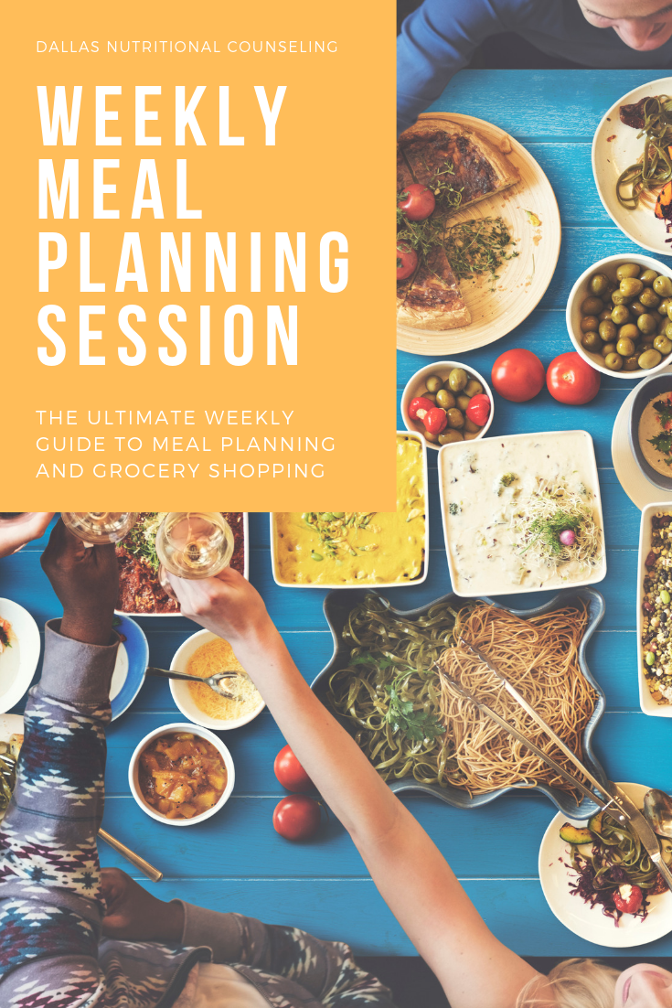 Weekly Meal Planning Session Casey Bonano RD LD, Dallas Nutritional Counseling #dallasnutritionalcounseling #balancedeating #homecooking #quickrecipes #easyrecipe #weeknightrecipe #carbfatpro #quickeasyrecipe #balancedeating #intuitiveeating #weeklymealplanningsession #mealplanning #mealprep #mealplanweek3