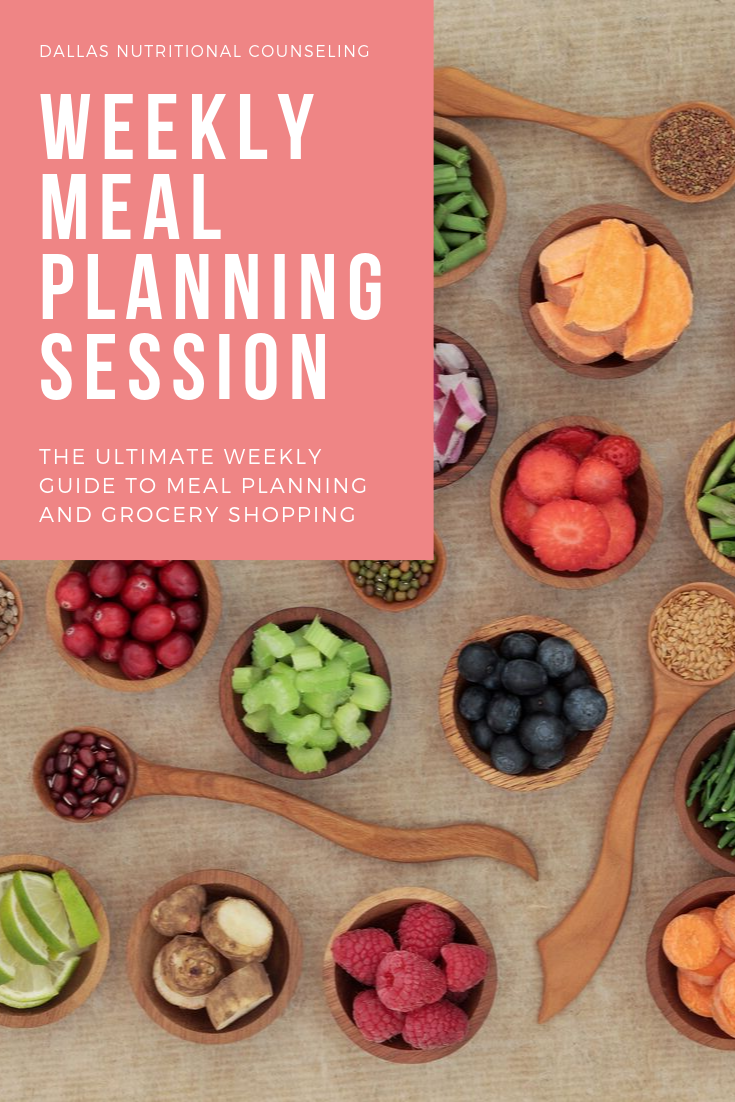 Weekly Meal Planning Session Casey Bonano RD LD, Dallas Nutritional Counseling #dallasnutritionalcounseling #balancedeating #homecooking #quickrecipes #easyrecipe #weeknightrecipe #carbfatpro #quickeasyrecipe #balancedeating #intuitiveeating #weeklymealplanningsession #mealplanning #mealprep #mealplanweek5
