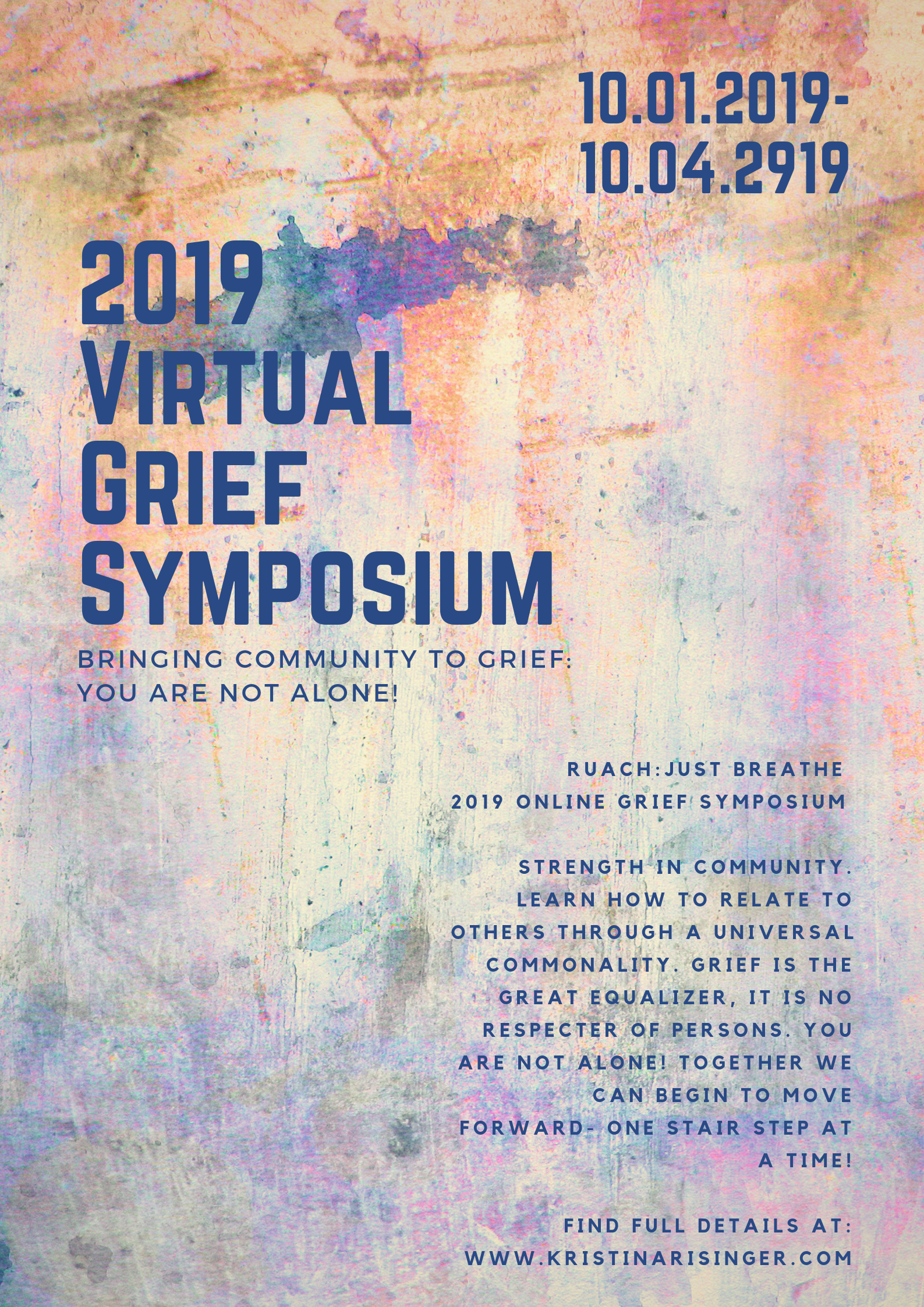 2019 Grief Symposium: Bringing Community to Your Grief Casey Bonano RD, LD, CEDRD Dallas Nutritional Counseling #grief #youarenotalone #griefsymposium #dallasnutritionalcounseling #mentalhealth #mentalhealthmatters #caseybonanord #eatingdisorder #eatingdisordertreatment
