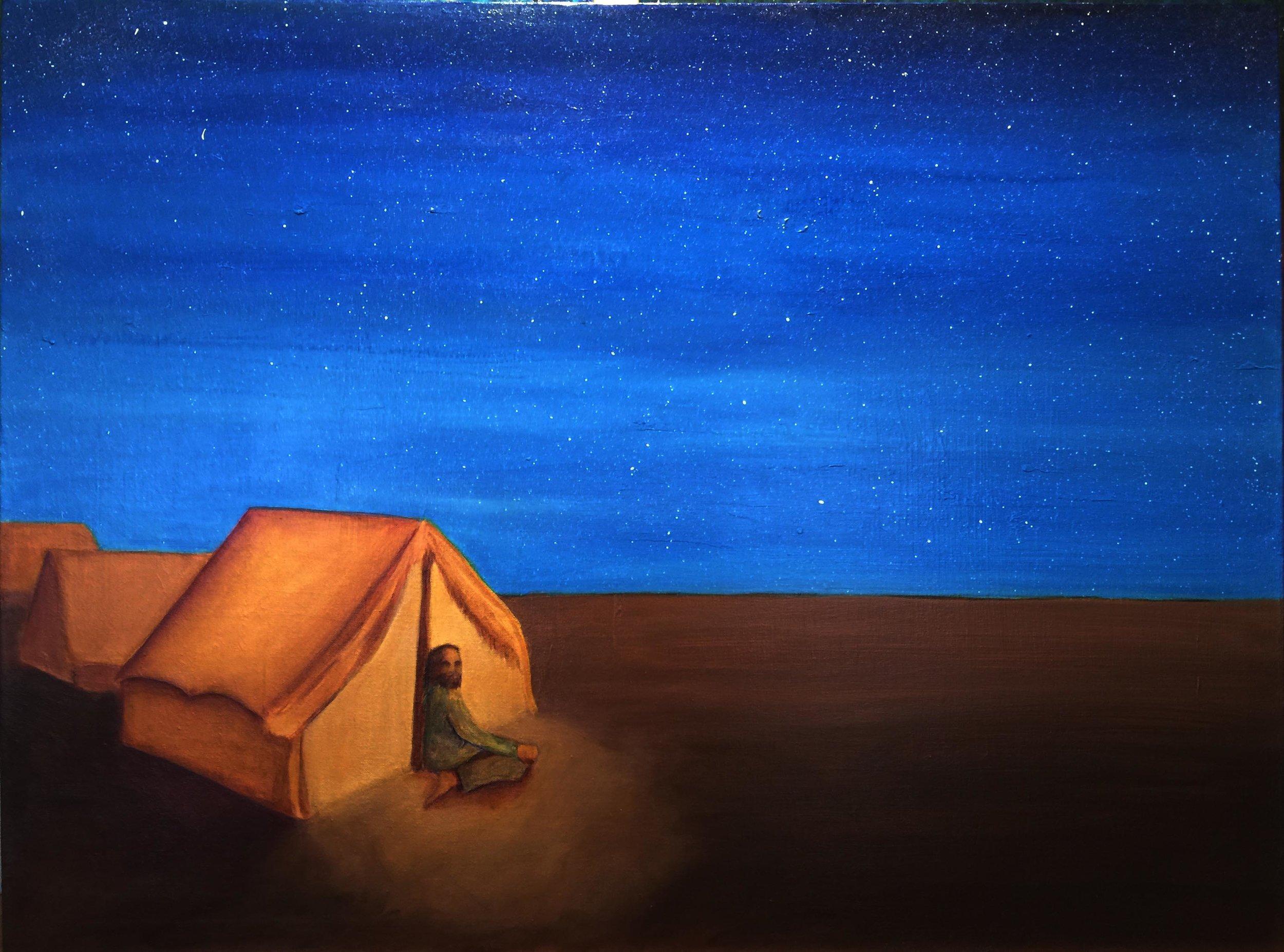 "Acrylic on canvas 20""x30"" / Jennifer Neal / copyright 2016"